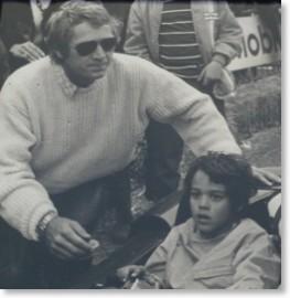 Steve et Chade McQueen - photo mcqueen-racing.com