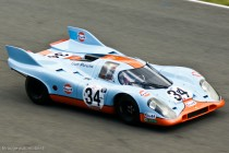 Porsche 917 aux couleurs Gulf (ici à Le Mans Classic 2012)