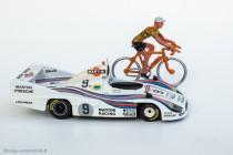 """Hommage pour le clip """"70 ans Merckx - Ickx"""" - Porsche 936 Vitesse et coureur Salza"""