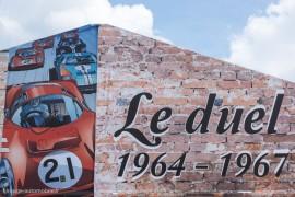 24 Heures du Mans 2015 - Exposition duel Ferrari - Ford 1964 - 1967