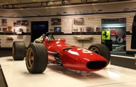 Ferrari F1 de Jacky Ickx  - expo 70 ans Merckx - Ickx / crédit organisateur