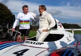 Clip de l'expo 70 ans Merckx - Ickx / crédit organisateur