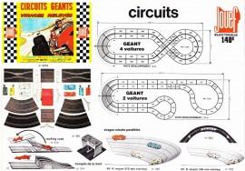 Circuits routiers électriques Jouef