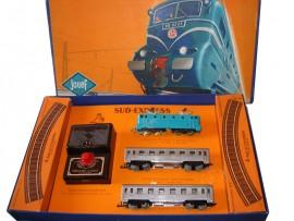 JOUEF : Coffret train électrique 1955