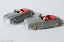 Dinky Toys réf. 24S - Simca 8 Sport - variantes 1 et 2