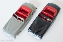 Dinky Toys réf. 24S - Simca 8 Sport - variantes 2 et 3