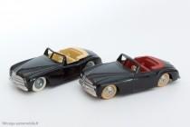 Dinky Toys réf. 24S et copie Editions Atlas - Simca 8 Sport