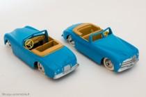Simca 8 Sport - les Dinky Toys de mon enfance par les Editions Atlas - réf. 24S série 50 ex.