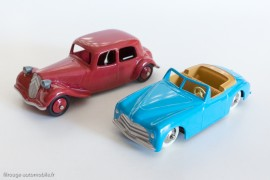 Citroën Traction et Simca 8 Sport - les Dinky Toys de mon enfance par les Editions Atlas - séries 50 ex.