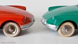 Citroën DS 19 - Dinky Toys réf. 24CP et 522 - jantes concaves et convexes