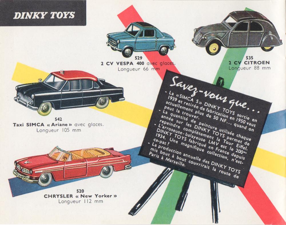 La ToysFilrouge Dinky Des Automobile Détaillée Cote EYeWIbD92H