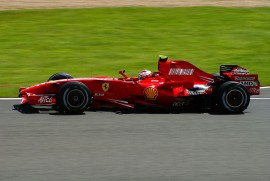 Ferrari F2007 de Kimi Raïkkönen - Championne du Monde