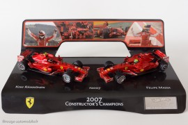 Ferrari F2007 - Coffret Hot Wheels commémoratif