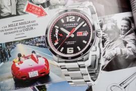 Mille Miglia Chopard en présentation dans Montres Magazine