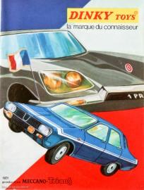 Catalogue Dinky Toys 1971 - l'apogée de la série 1400