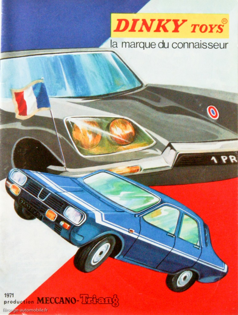 Catalogue Dinky Toys 1971
