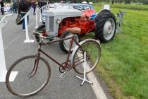 Le Jour J 70 à Lohéac - Tracteur Massey Fergusson