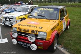 Renault 5 Alpine Groupe 2, Ragnotti 2ème au Monte Carlo 1978