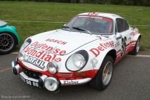 Le Jour J 70 à Lohéac - Alpine Renault A110 groupe 4, Ragnotti en 1973 puis de 2011 à 2014
