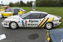 Le Jour J 70 à Lohéac - Alpine V6 Turbo Europa Cup 1986