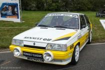 Le Jour J 70 à Lohéac - Renault 11 Turbo Groupe A , Ragnotti 5ème du Championnat du Monde des Rallyes 1987