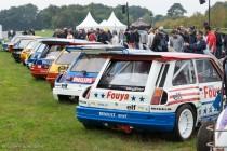 Le Jour J 70 à Lohéac - Renault 5 Maxi Turbo 4x4 et les R5 de Ragnotti