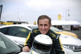 Jean Ragnotti pour le Jour J 70 (Photo Renault)