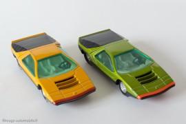 Dinky Toys réf. 1426 - Alfa Romeo Carabo Bertone - les deux coloris