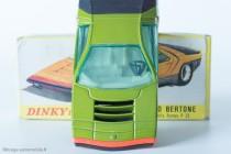 Dinky Toys réf. 1426 - Alfa Romeo Carabo Bertone - volant fidèle et caractéristique