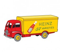 Mes Dinky par Rémy Simard - Illustration Guy Warrior Heinz Dinky Toys
