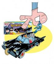 Mes Dinky par Rémy Simard - Illustration de Batmobile Corgi Toys