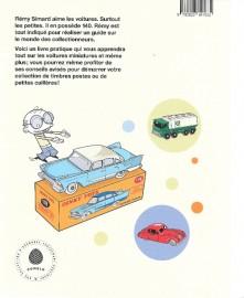 Mes Dinky par Rémy Simard - Editions La Pastèque - 4ème de couverture