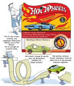 Mes Dinky par Rémy Simard - Illustration Hot Wheels - Page 27