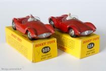 Dinky Toys 22A et 505 - Maserati 2000 sport