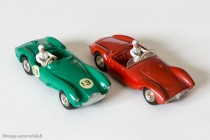 Dinky Toys 505 - Maserati 2000 sport et Dinky Toys 506 - Aston Martin DB3 Sport