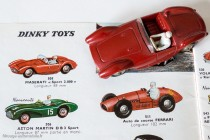 Dinky Toys 22A - Maserati 2000 sport - sur catalogue 1960