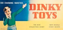 panneau publicitaire Dinky Toys