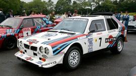 Lancia Delta S4 en configuration Rallye de Monte Carlo