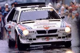 Lancia Delta S4 vainqueur du Rallye de Monte Carlo 1986