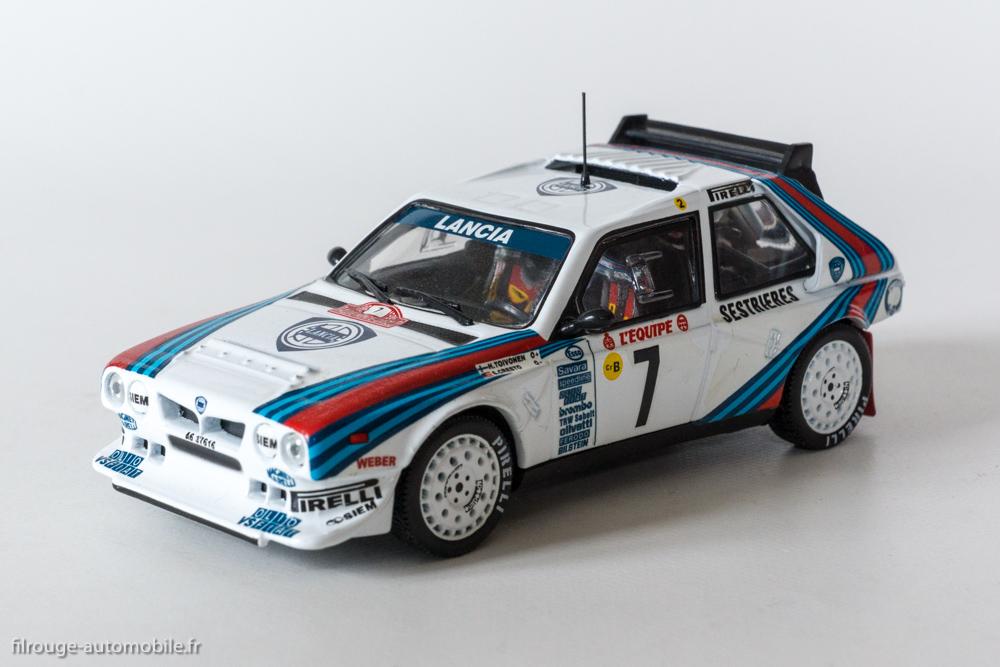 une voiture une miniature lancia delta s4 monte carlo 1986 filrouge automobile. Black Bedroom Furniture Sets. Home Design Ideas
