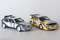 Lancia Delta S4 & Audi Quattro S2- Ixo Models pour Altaya