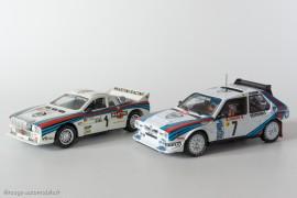 Lancia Delta S4 - Ixo Models pour Altaya & Lancia Rallye 037 - Vitesse