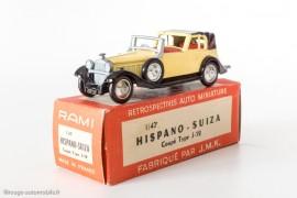 RAMI n° 10 - Hispano-Suiza Coupé Type J-12 1934