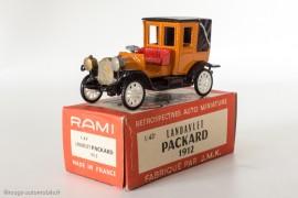 RAMI n° 13 - Packard Landaulet 1912