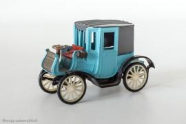 RAMI n°14 - Peugeot Type 21 Coupé 1898, identique à celle du Musée automobile Henri Malartre de Rochetaillée (voir ci-contre)