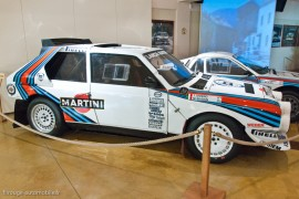 Lancia Delta S4 au musée de Lohéac