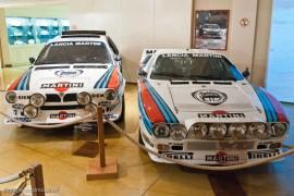 Lancia Delta S4 et Rally 037 au musée de Lohéac
