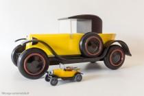 Citroën Trèfle 1925 - Vilac / Aroutcheff au 1/10ème & Modèle Rami au 1/43ème