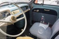Renault Dauphine, l'habitacle