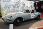Jaguar Type E compétition - Rétromobile 2016